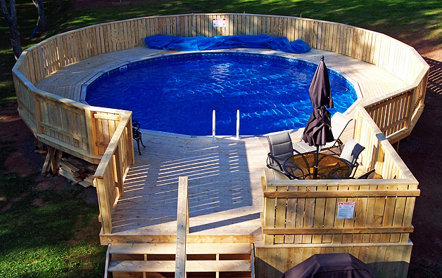 Above Ground Swimming Pool Information For Pool Sizes